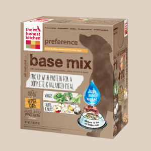 the honest kitchen u2013 preference base mix